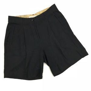 "Tommy Bahama Silk Black Shorts 7"" Inseam"